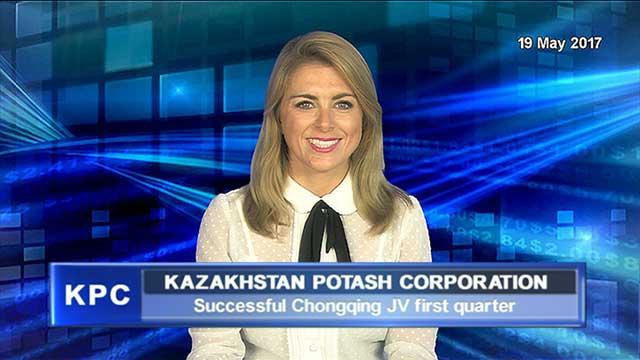 Kazakhstan Potash: successful Chongqing JV first quarter