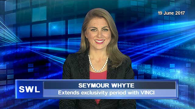 Seymour Whyte extends exclusivity period with VINCI
