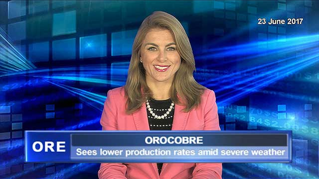 Orocobre sees lower production rates amid severe weather