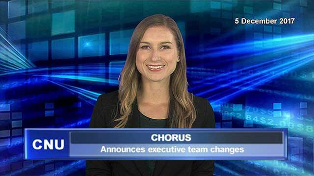Chorus announces executive team changes