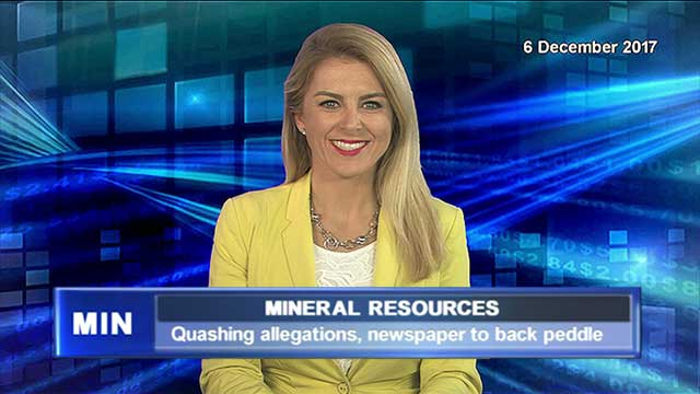 Mineral Resources quashes allegations, newspaper to back peddle