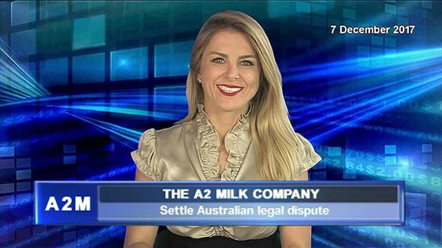 a2 Milk Company settles Australian legal dispute