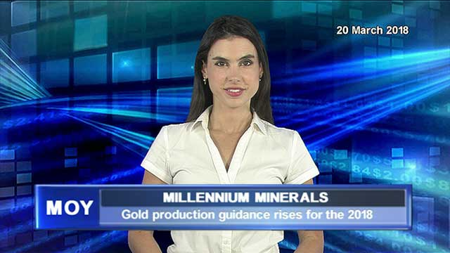 Millenium Minerals increases gold production guidance for CY18