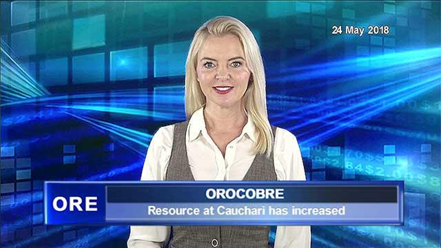 Orocobre see Lithium increase in Cauchari