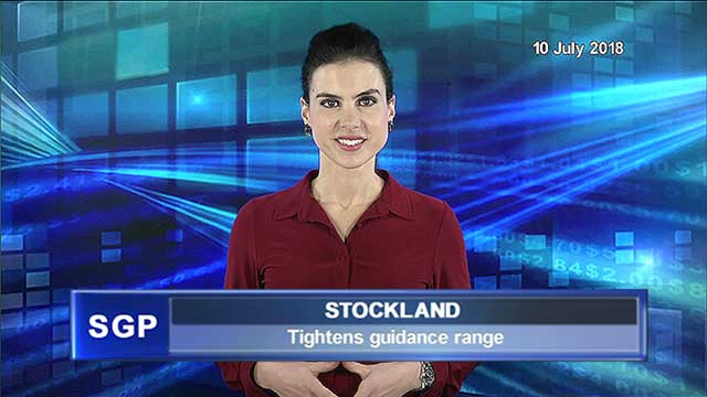 Stockland tightens guidance
