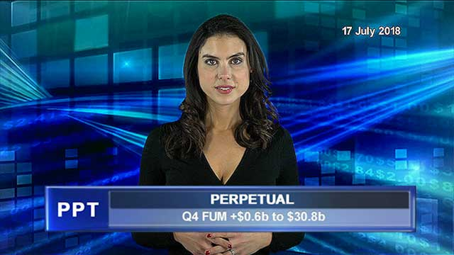 Perpetual 4Q FUM  increase by $0.6b to $30.8b