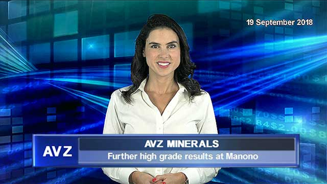 AVZ reports further high grade results from its Mineral Resource drilling at Manono