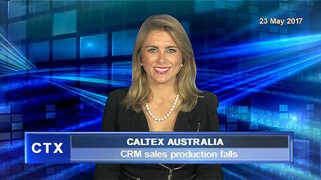 Caltex CRM sales production falls