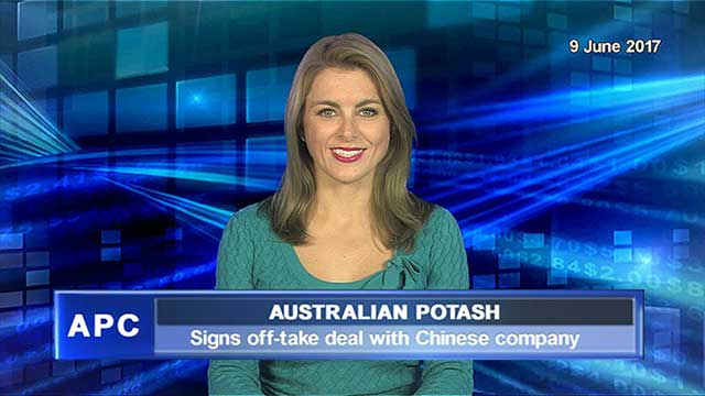 Australian Potash signs off-take deal with Chinese company
