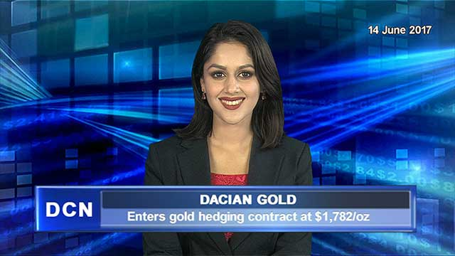 Dacian Gold enters gold hedging contract at $1,782/oz