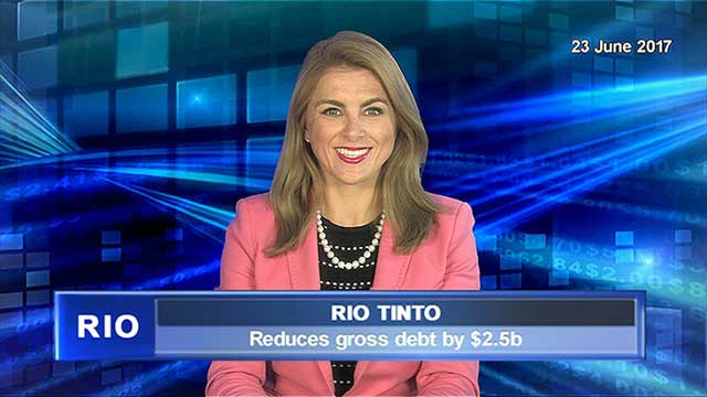 Rio Tinto reduces gross debt by $2.5b