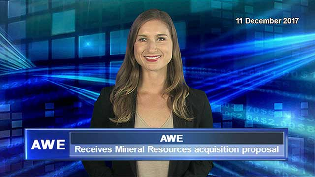 AWE receives Mineral Resources acquisition proposal