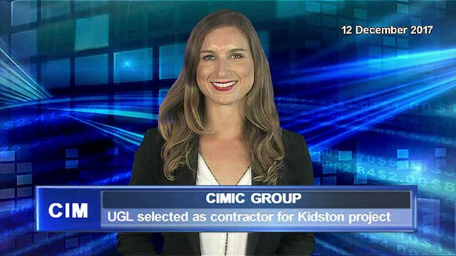 CIMIC's UGL selected as contractor for Kidston project