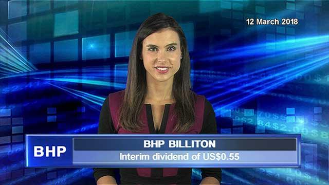 BHP announces interim dividend of $US0.55