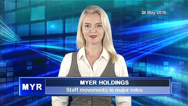 Major staff movements across Myer