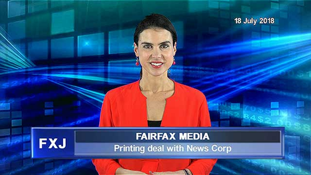 Fairfax enters into printing agreement with News Corp