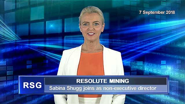 Resolute Mining welcomes Sabina Shugg