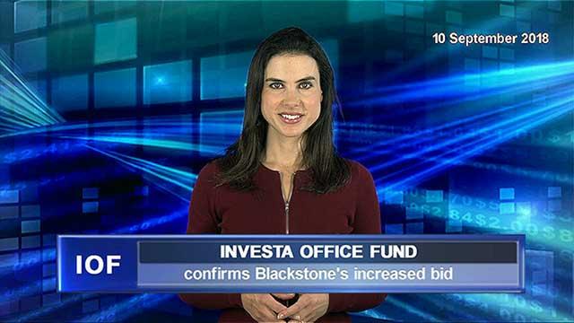 Investa confirms Blackstone's increased bid