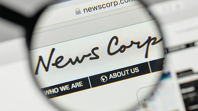 News Corp sees revenue pushed up 17%