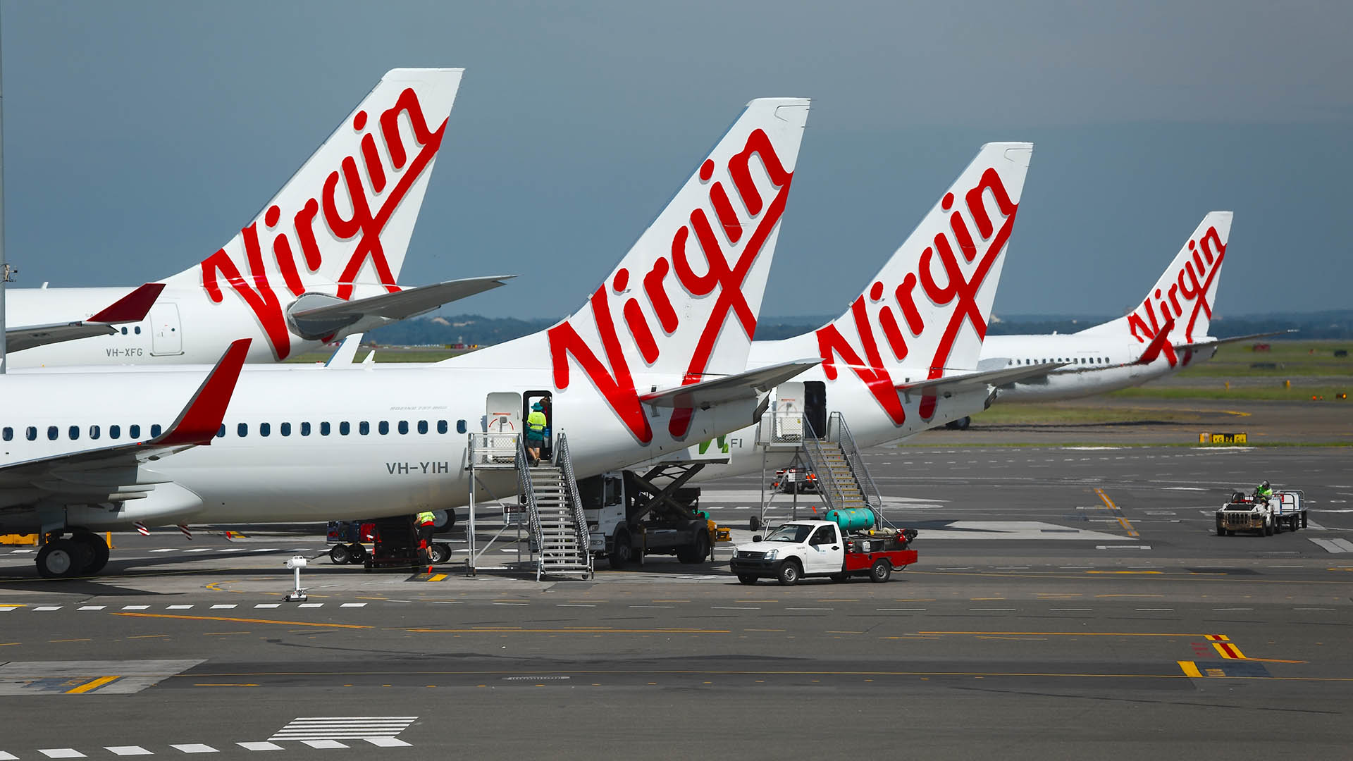 The Virgin Australia Group (ASX:VAH) grounds international fleet