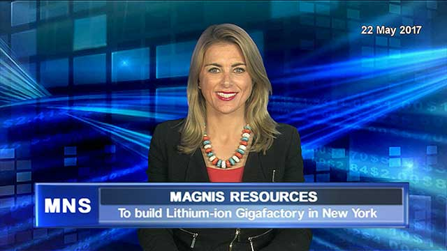 Magnis Resources to co-build Lithium-ion Gigafactory in NY