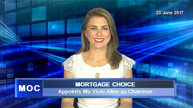 Mortgage Choice appoints Ms Vicki Allen as Chairman