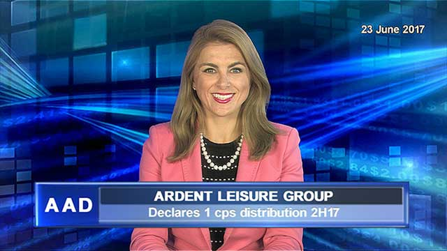 Ardent Leisure declares 1 cps distribution 2H17