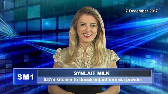 Synlait Milk's $37m kitchen to double infant formula powder