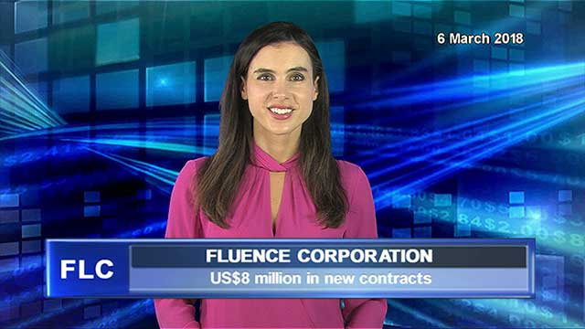 Fluence announces US$8 million in new contracts since 1 Jan
