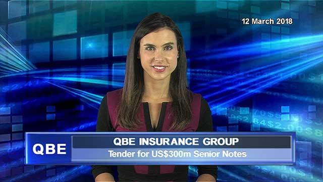 QBE announces tender for US$300m Senior Notes