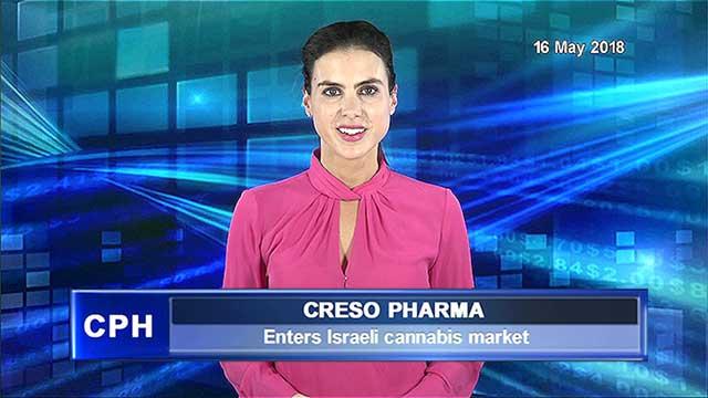 Creso Pharma Enters Israeli cannabis market