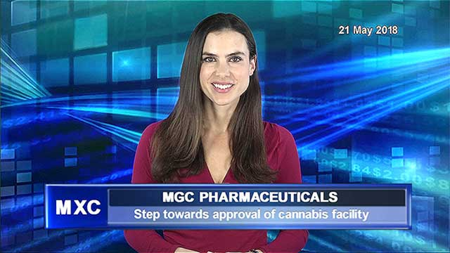 MGC Pharmaceuticals expects formal approval for medicinal cannabis facility in weeks