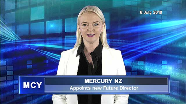 Mercury NZ appoints new Future Director