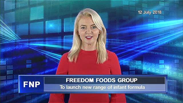 Freedom Foods Group to launch new infant formula