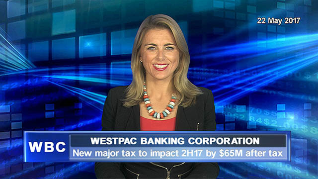 Westpac says new major tax to impact 2H17 by $65M after tax