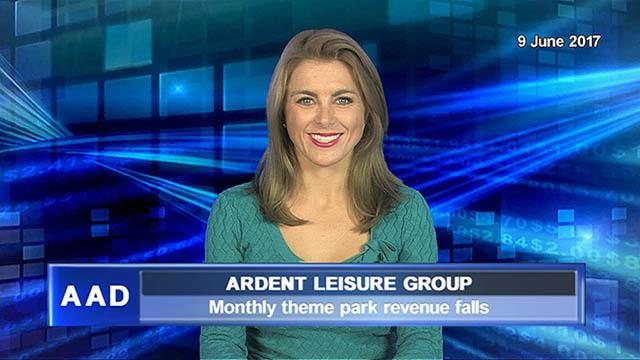 Ardent Leisure monthly theme park revenue falls