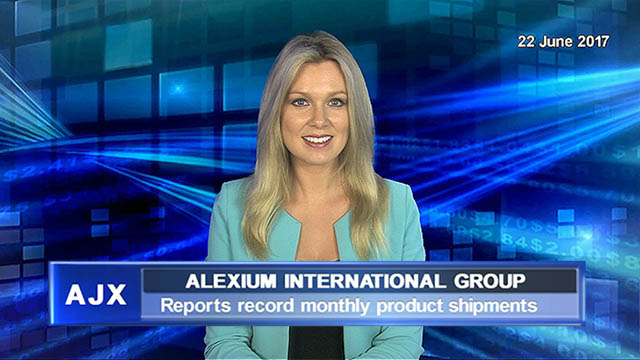 Alexium reports record monthly product shipments
