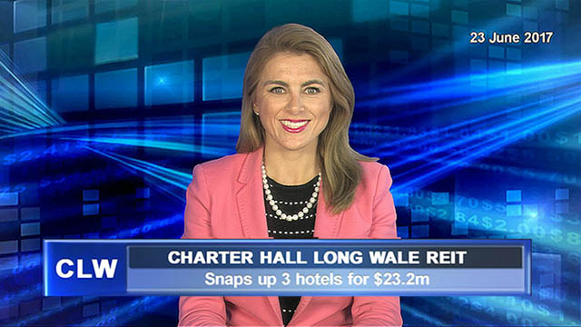 Charter Hall Long WALE REIT snaps up 3 hotels for $23.2m