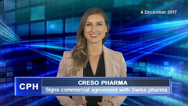 Creso Pharma signs commercial agreement with Swiss pharma