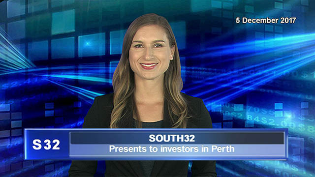 South32 presents to investors in Perth