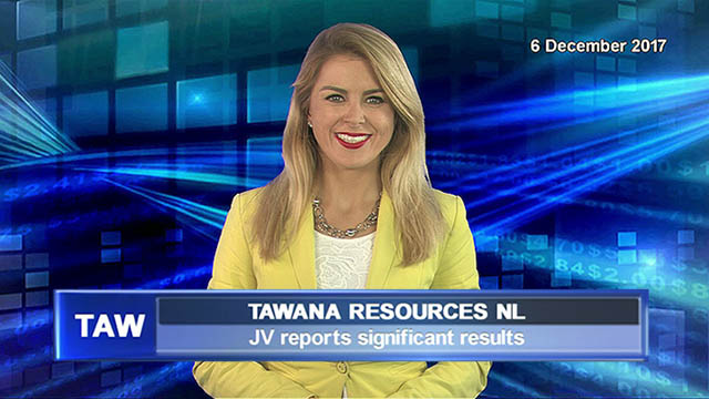 Tawana Resources JV reports significant results