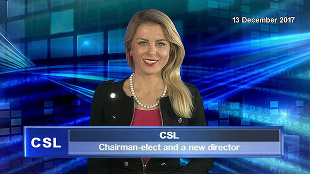 CSL announces Chairman-elect and a new director