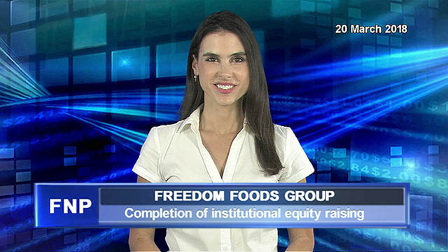 Freedom Foods announces completion of institutional equity raising