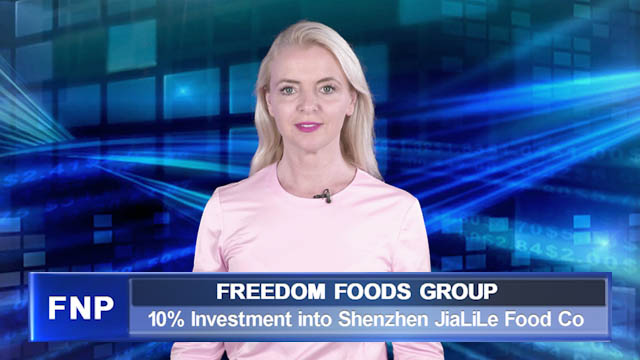 Freedom Foods Group completes China investment