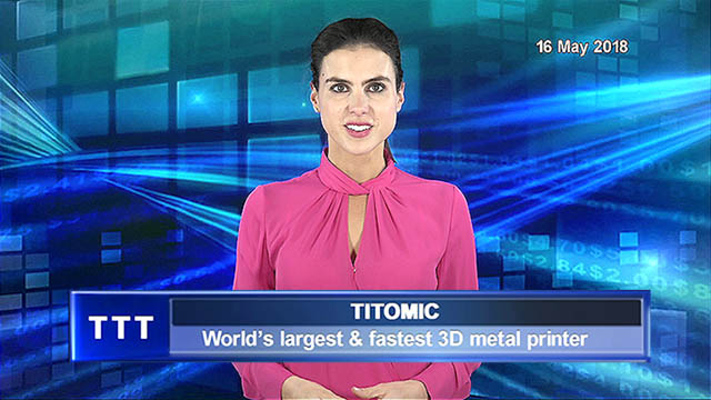 Titomic launches world's largest & fastest 3D metal printer