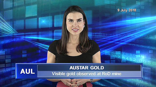 AuStar Gold  announces visible gold observed at RoD mine