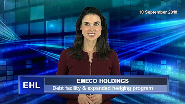Emeco announces debt facility and expanded hedging program