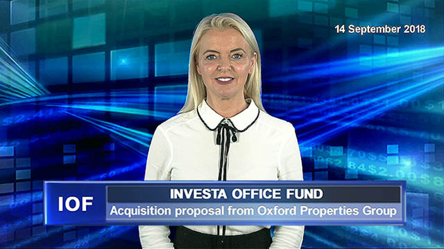 Investa acquisition proposal from Oxford Properties Group