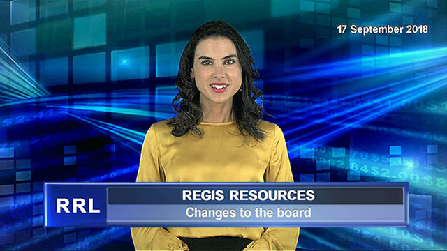 Regis Resources announces changes to the board