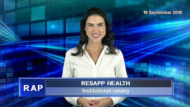 ResApp announces institutional raising